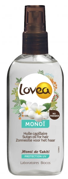 Lovea Monoi Oil Hair Protection From UV 125ml - 1a.lv