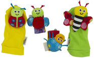 Lamaze Gardenbug Wrist Rattle Foot Finder Set L27634