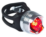 Cube RFR Light Diamond Red LED Silver