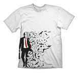 Gaya Entertainment T-Shirt Hitman 47 Weapons White M