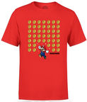 Nintendo T-Shirt Super Mario Coin Drop Red L
