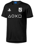 Sony T-Shirt Playstation PS FC Symbol Black M