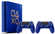 Sony Playstation 4 (PS4) Slim 500GB Blue Days Of Play Limited Edition