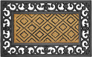Diana Doormat 45x75cm Brown/Black