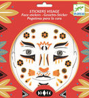 Djeco Leopard Face Stickers DJ09215