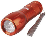 Emos Metal LED Flashlight Orange