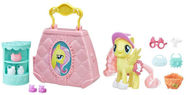Hasbro My Little Pony The Movie Fluttershy Purse Pet Care E0712