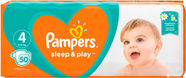 Pampers Sleep Play & S4 50Pcs