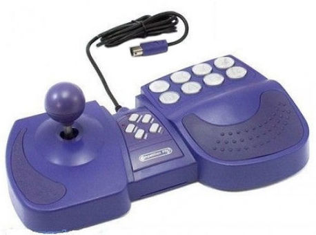 Competition PRO GameCube Combat Arcade Joystick Purple best gamecube accessories