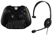 Microsoft Chatpad with Chat Headset For Xbox One/Windows 10 Black