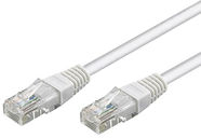 Goobay CAT 5e Patch Cable UTP 10m White