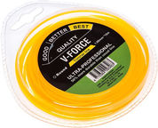 Victa V-Force Trimmer Line 1.6mm 15m Round Yellow