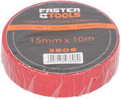Ega 3808 Insulating Tape 15mm 10m Red