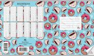 Jānis Roze Exercise Book JR8 18 Pages Donut