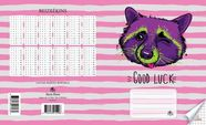 Jānis Roze Exercise Book JR8 12 Pages Raccoon2