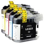 GenerInk Cartridge Brother LC223 Colorful 4 Pack