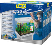 Tetra AquaArt Shrimps Aquarium Complete Set 20L White