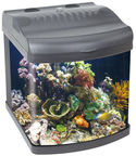 Boyu Mini Aquarium MT-402G Grey