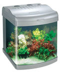 Boyu Mini Aquarium MT-50S Silver