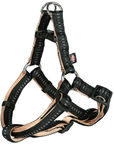 Trixie Softline Elegance One Touch Harness XL Black/Beige