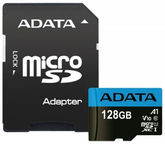 A-Data Micro SDXC V10 128GB 85MB/s + Adapter