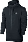 Nike Hoodie NSW FZ FT 804391 010 Black 2XL