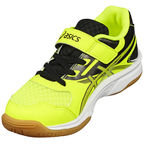 Asics Kids Volleyball Shoes Upcourt 2 Ps C735Y-0795 Yellow 35