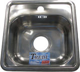 Tredi T1515 Stainless Steel 380x380mm