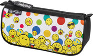Pencil Pouch Sport Smileyworld Rainbow Faces