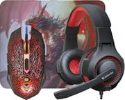 Defender DragonBorn Headset + Mouse MHP-003 + Mouse Pad Gaming Combo