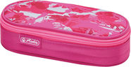 Herlitz Pencil Pouch Case Airgo Camouflage Pink