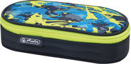Herlitz Pencil Pouch Case Airgo Camouflage Lemon