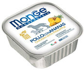 Monge Monoproteinic Fruits Pate Chicken/Pineapples 150g