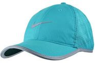 Nike Hat Run Knit Mesh 810132-418 Blue