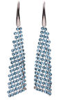 Diamond Sky Earrings With Crystals From Swarowski Jennifer Aquamarine