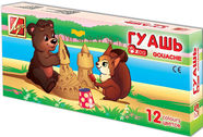 Luch Gouache Paints Zoo 12pcs