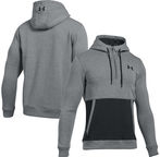 Under Armour Zip Hoodie Threadborne 1/2 1299135-025 Gray XL