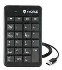 4World USB Numeric Keypad Super Slim