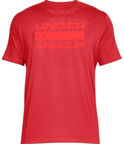 Under Armour T-Shirt Wordmark 1314002-600 Red L