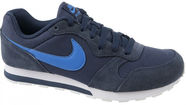 Nike Running Shoes Md Runner GS 807316-410 Blue 36.5