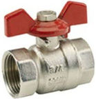 ARCO Nile FF Ball Valve with Short Handle 1''