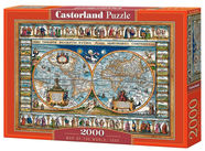 Castorland Puzzle Map Of The World 1693 2000pcs