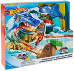 Mattel Hot Wheels City Shark Beach Battle Play Set FNB21