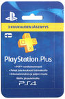 Sony PSN PlayStation Plus 3 Month Membership Finland PSN IDs Only
