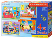 Castorland Puzzle I Like My Job 4in1