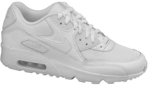 3632a7c8043 Nike Sneakers Air Max 90 Mesh Gs 833418-100 White 40 :: Спортивная ...