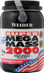 Weider Mega Mass 2000 Strawberry Delight 1.5kg
