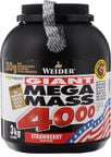 Weider Mega Mass 4000 Strawberry 3kg