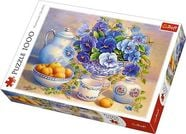 Trefl Puzzle The blue bouquet 1000pcs