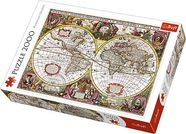 Trefl Puzzle Map Of The Entire Earth 2000pcs